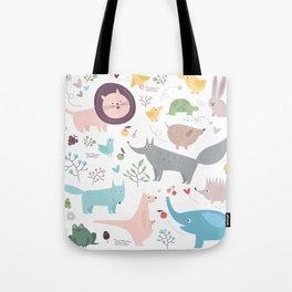 Happy Animals Tote Bag