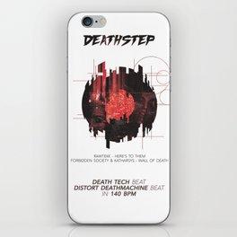 DEATHSTEP iPhone Skin