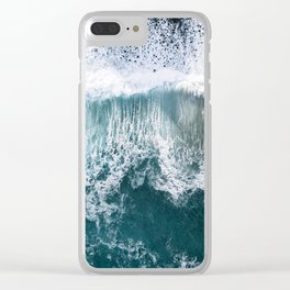Oceanscape Clear iPhone Case
