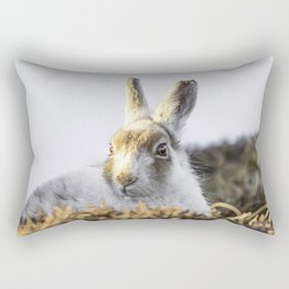 Mountain hare Rectangular Pillow