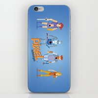 thundercats iPhone & iPod Skins featuring Thundercats - Pixel Nostalgia  by Boo! Studio