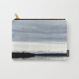 Take Me to a Lake with a View Carry-All Pouch