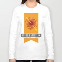 martell Long Sleeve T-shirts featuring House Martell Sigil V2 by P3RF3KT