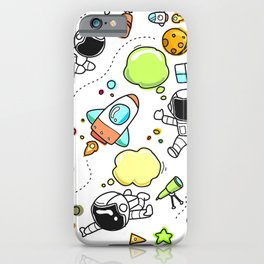 sky tech astronaut iPhone Case