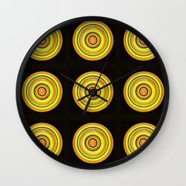 Circle #3  Multiplied Wall Clock