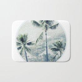 Reef palms Bath Mat