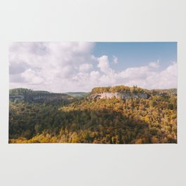View from Chimney Top Rock - Red River Gorge, Kentucky Rug