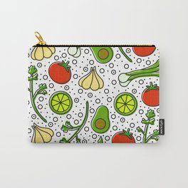 Guacamole Pattern Carry-All Pouch