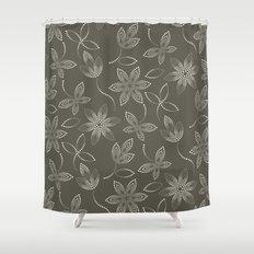MAUA flora Shower Curtain