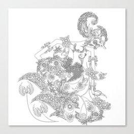 WAYANG WERKUDORO Canvas Print