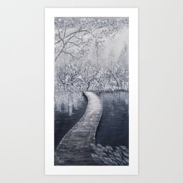 Board Walk Art Print