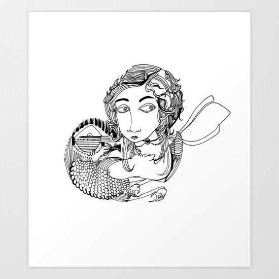 Laura Art Print