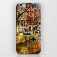 amsterdam iPhone & iPod Skins featuring Amsterdam  by haroulita