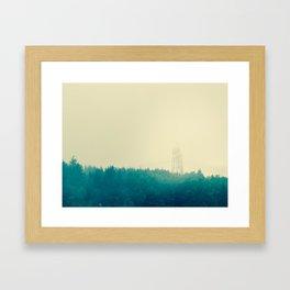 Footprint Framed Art Print