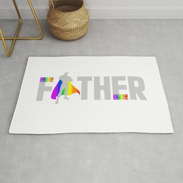 happy father day t shirt Rug