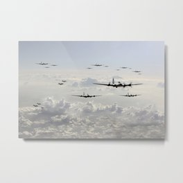 B-17 Bomb Group Metal Print