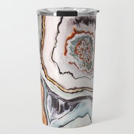 Geode Agate Stone - Nature Travel Mug