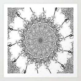 Cords Art Print