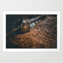 Roasted Coffee 4 Art Print