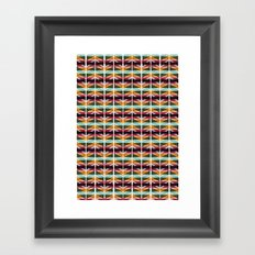 ∆ I Framed Art Print