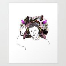 Raf Simons Art Print