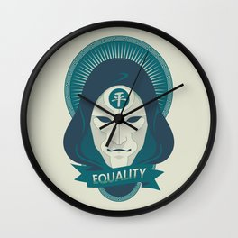 EQUALITY Wall Clock