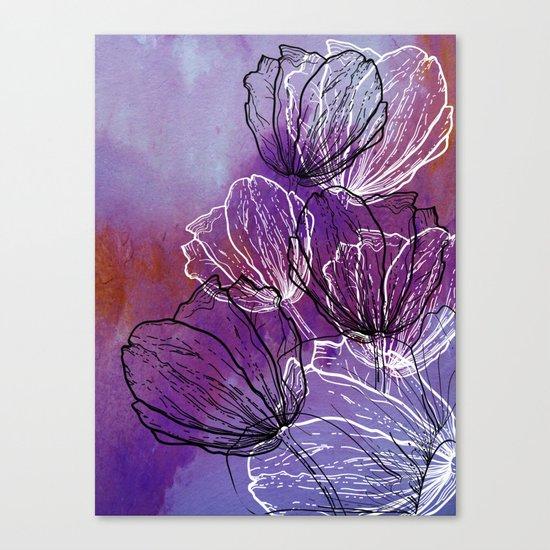 Colorful Flower Fantasy Canvas Print