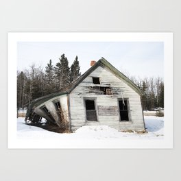 House on 795 #2 Art Print