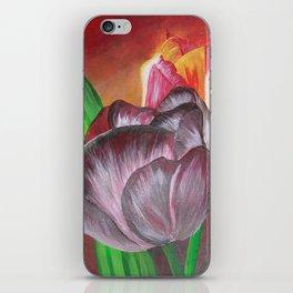 Two Tulips iPhone Skin