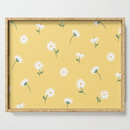 Little Daises Serving Tray