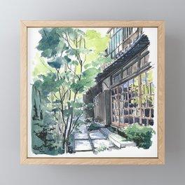 Shaded Alley Framed Mini Art Print