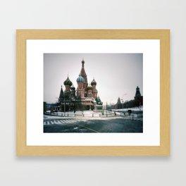 pinhole 586, moscow vignettes Framed Art Print