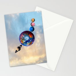 Gaia's friends #society6 Stationery Cards