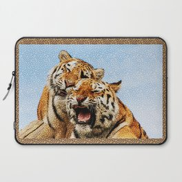 TIGERS - DOUBLE TROUBLE Laptop Sleeve