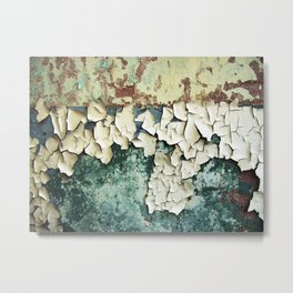 Colours of abandonment Metal Print