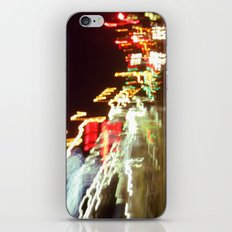 moving at the speed of light iPhone & iPod Skin