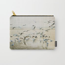 My heart beats in a million gulls Carry-All Pouch