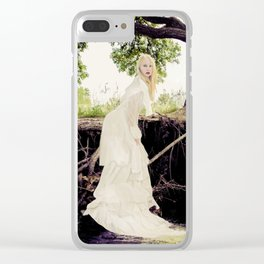 The Water's Bride Clear iPhone Case