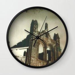 Kirkstall Abbey Polaroid Wall Clock