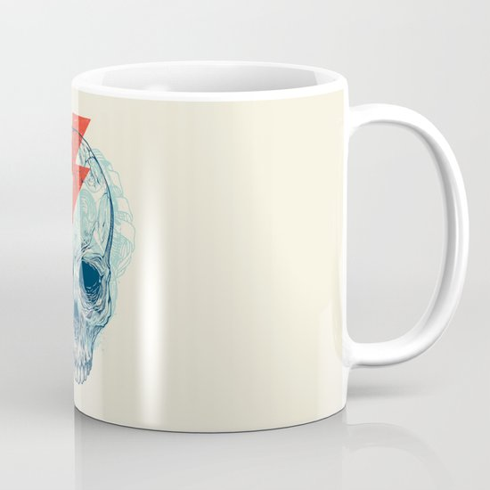 Skull Bolt Coffee Mug