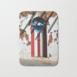 Puerto Rico Flag Bath Mat