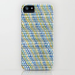 Crazy Triangles  iPhone Case