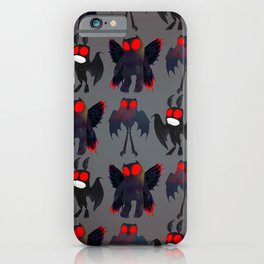 Mothman Mayhem iPhone Case