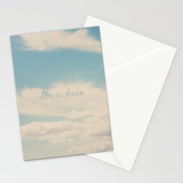 dare to dream ... Stationery Cards