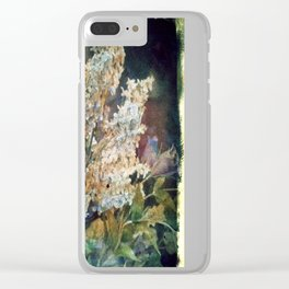 Vintage Bouquet Clear iPhone Case