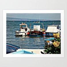 Marina Grande Art Print