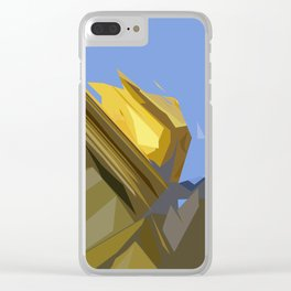 Budapest Sky's  Clear iPhone Case