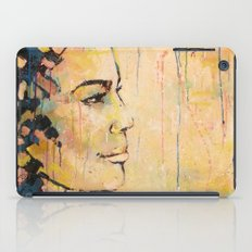 Looking to the Future -beautiful woman iPad Case