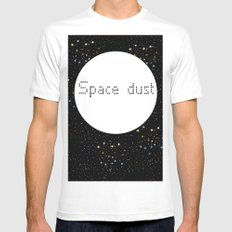 Space dust MEDIUM White Mens Fitted Tee