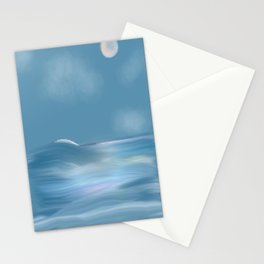 Moonlight on the High Seas Stationery Cards